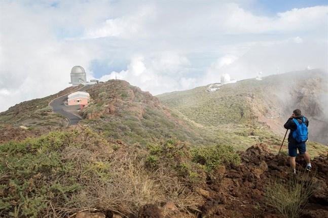 Vandring bland molnen runt La Palmas högsta berg Roque de Los Muchachos.