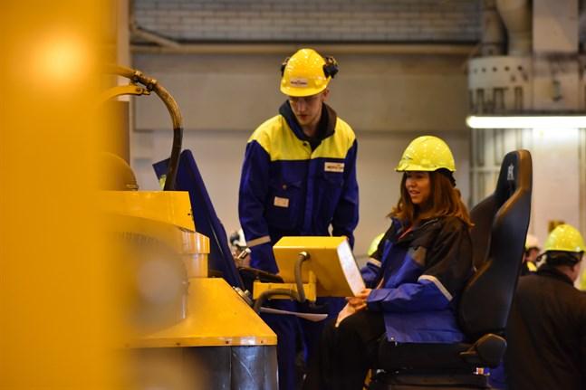 Meyers varv i Åbo är ett av de företag som drabbas av strejken.