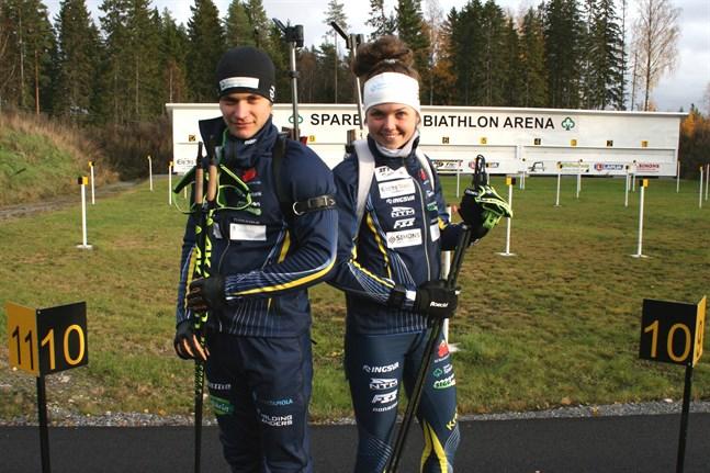 Patrik och Heidi Kuuttinen får båda packa väskorna och åka till junior-VM i Schweiz.