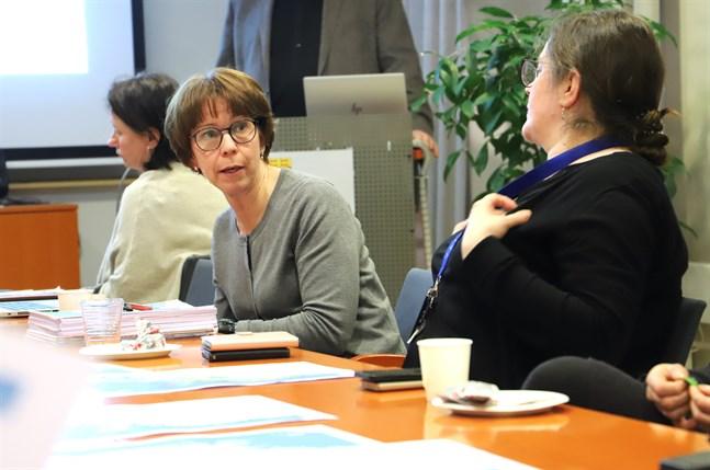 Planläggningsdirektör Ann Holm på Österbottens förbund utreder nya vindkraftsområden till uppdaterad landskapsplan.