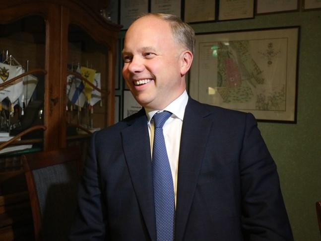 Fazers koncernchef Christoph Witzthum föreläste på Lakasoppa-kvällen i Karleby.