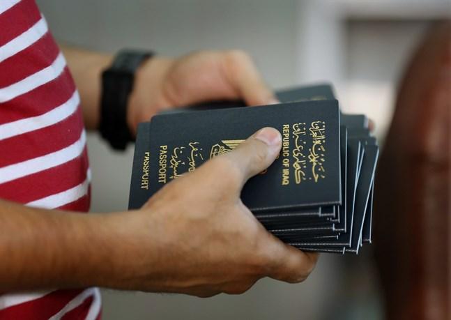 Det japanska passet ger tillträde till flest länder i världen, medan irakiska och afghanska pass hamnar längst ner i en ny rankning. Arkivbild.