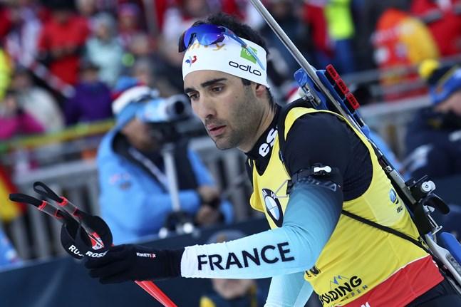 Martin Fourcade tog tre segrar av tre möjliga under världscuphelgen i Ruhpolding: sprint, stafett och jaktstart.