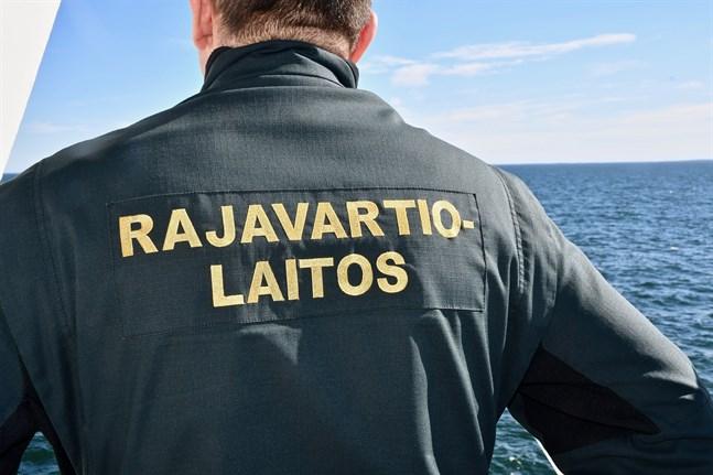 Gränsbevakningsväsendet utreder den misstänkta kränkningen av finska territorialvatten. Arkivbild.