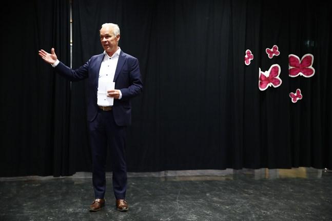 Norges kunskaps- och integrationsminister Jan Tore Sanner nämns som en kandidat till finansministerposten. Arkivbild.