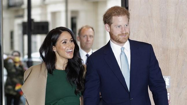 Vad ska prins Harry och hustrun Meghan leva av nu? Arkivbild.