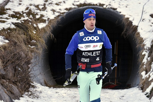 Perttu Hyvärinen har haft många motiga säsonger, men i vinter har han fått ut sin kapacitet.
