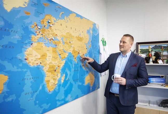 Woima Corporation har offerter ute runt om i världen. Asien är en viktig potentiell marknad.
