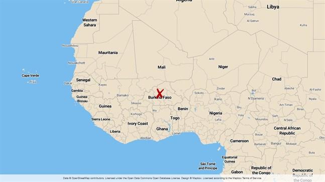 Byn Alamou i Sanmatengaprovinsen i Burkina Faso.