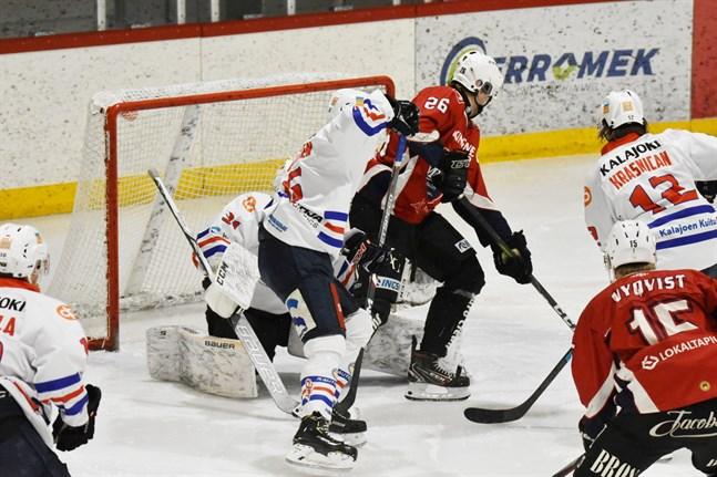 Matchen mot JHT blev ett magplask för Muik Hockey.