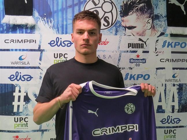 Tuomas Pöyhönen är en av två målvakter i VPS kommande säsong.