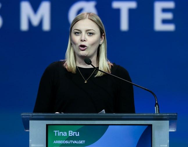 Høyrepolitikern Tina Bru spås bli ny olje- och energiminister i Norge. Arkivbild.