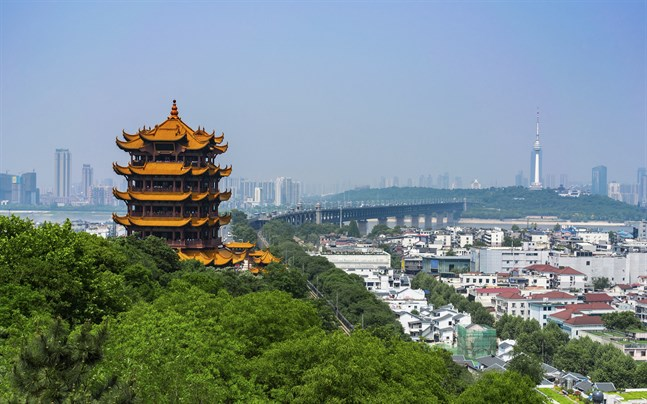 Wuhan i Kina.