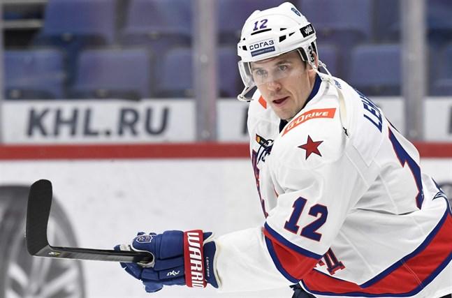 Jori Lehterä spelar till vardags i ryska storklubben SKA S:t Petersburg.