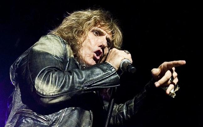 David Coverdale och Whitesnake på Sweden Rock.