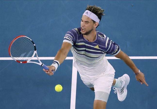 Dominic Thiem slog ut fjolårsfinalisten Rafael Nadal i Australian Open.