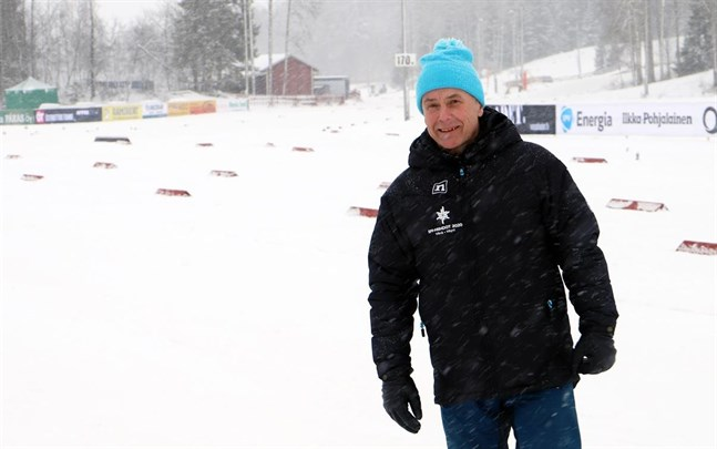 Tävlingsledaren Mårten Lövdahl är väldigt glad knappa två veckor efter FM i Vörå. Allt gick som det skulle och åkarna var nöjda.
