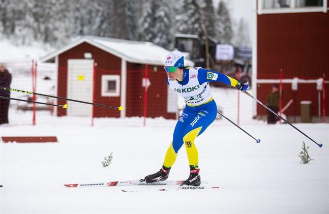 Krista Pärmäkoski förivrade sig i Vöråterrängen och gick ut för hårt på sin första etapp, det kom att straffa sig på slutet.