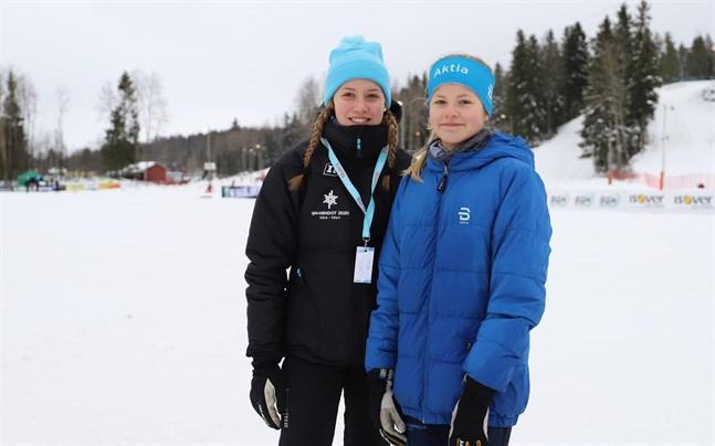 Ines Tuohimaa och Wilma Hjerpe har båda siktet inställt på att en dag tävla i FM.