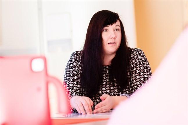 Desirée Böhling är tutorlärare för IKT-användningen i Kronobys daghem.