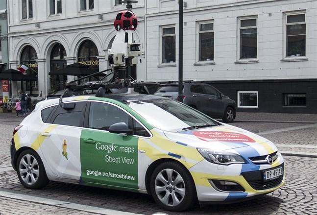 Kamerabil från Google.