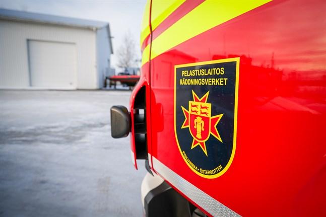 Räddningsverket ryckte ut till Rejpeltvägen i Vörå på tisdagseftermiddagen.