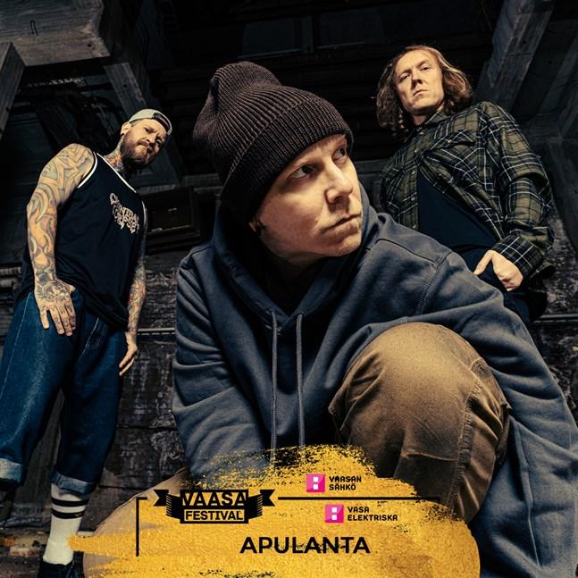 Apulanta uppträder på Vasa Festival.
