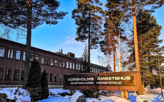 Korsholms ämbetshus saneras som bäst.