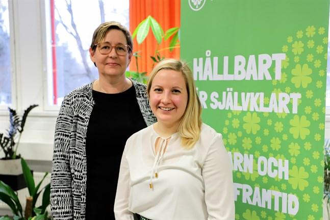 Idéen till Hållbarhetsveckan i Österbotten kom från Omställning Österbotten och Ulrica Taylor medan det är Nora Backlund som leder projektet som ska förverkliga evenemanget.