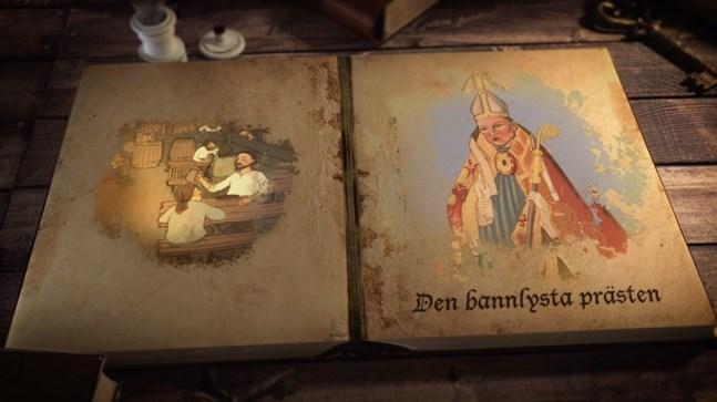 Skärmdump från den animerade serien
