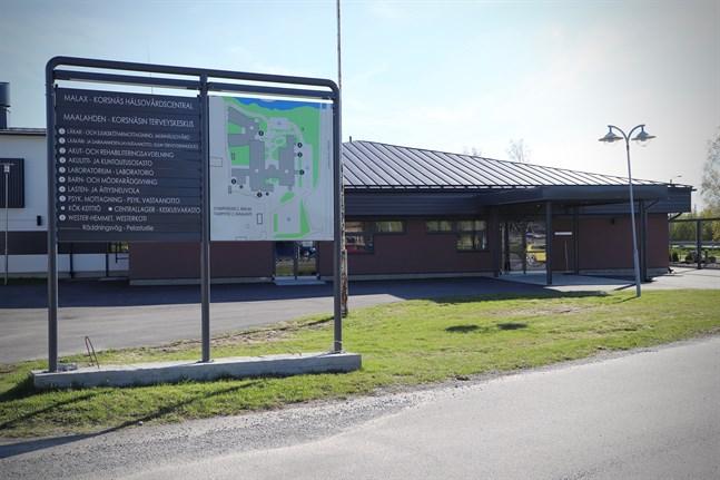 Malax-Korsnäs hälsovårdscentral ägs av båda kommunerna, men Malax kommer ensam att äga det nya centralköket.