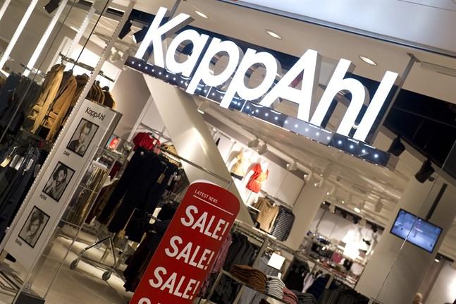 En av Kappahls butiker i Stockholm. Arkivbild.