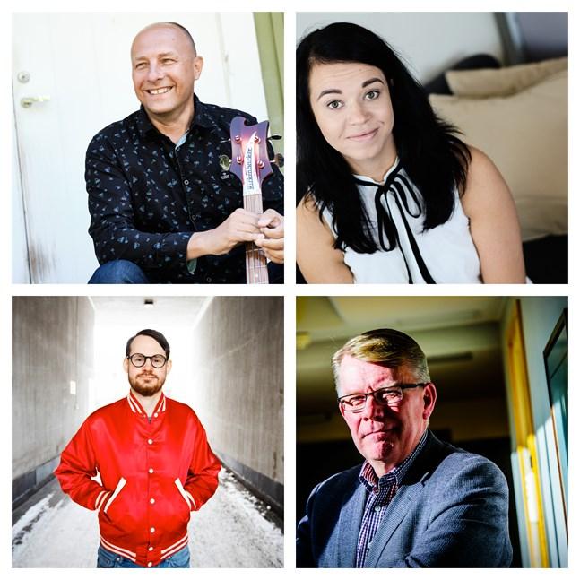 Hippi Hovi, Jenni Parpala, Jerry Lindqvist och Thomas Hultén pratar om FInlands ekonomi.