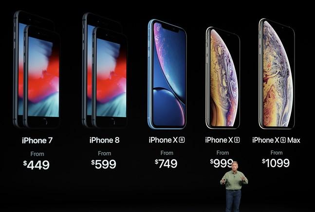 Operativsystemet på många olika modeller av Iphone har saktats ned av Apple. Arkivbild.