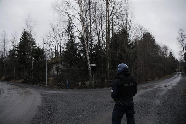 Sex personer är gripna misstänkta för skottlossningen i Björneborg på söndag eftermiddag.