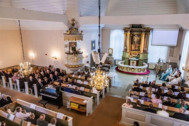 Även om påsken är en högtid som brukar fylla kyrkorna försöker man också i år skapa gemenskap från församlingarnas håll. Arkivbild.
