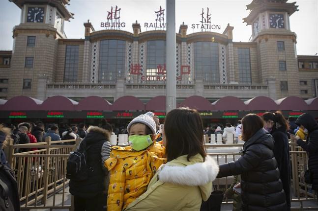 Tåg och flyg i Kina ska organiseras för att minimera smittspridning. Arkivbild.