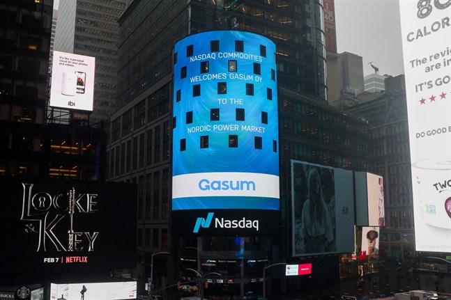 Gasum har gått med i den nordiska elbörsen.