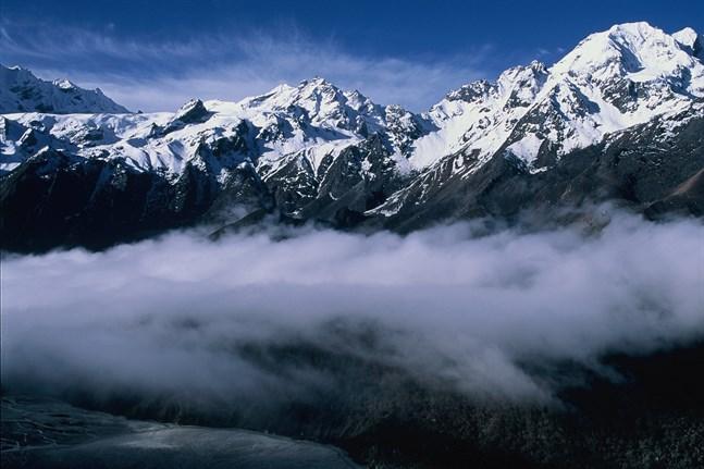Himalaya är världens tredje största glaciärområde. Arkivbild.