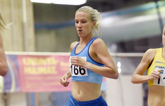 Camilla Richardsson tycker att säsongens första tävling kunde ha gått bättre.