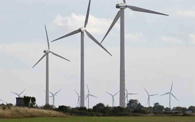 Full snurr på vindkraftverken.