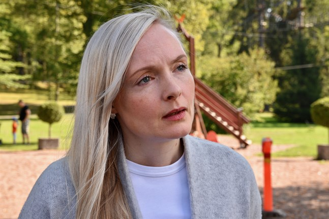 Inrikesminister Maria Ohisalo (Gröna) kan ännu inte säga hur många barn det handlar om för Finlands del.