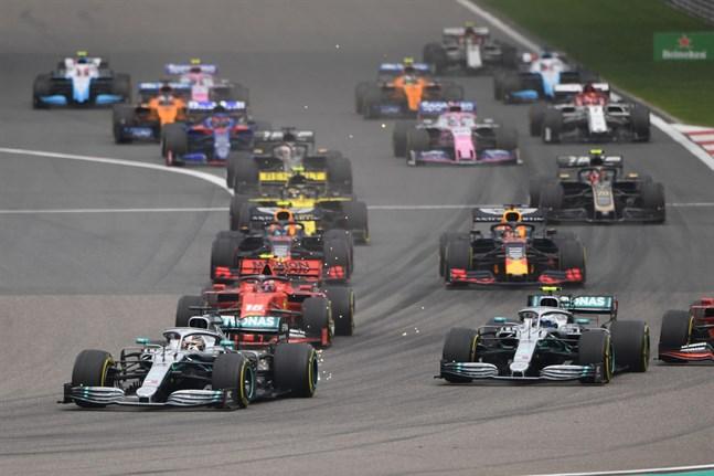 Återstår att se om formel 1-tävlingen i Shanghai kan köras senare i år.