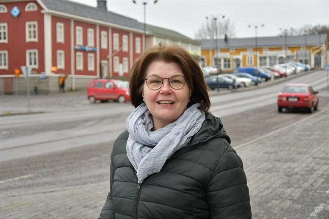 Kirsi Rantatalo vill se ett levande centrum i framtiden.
