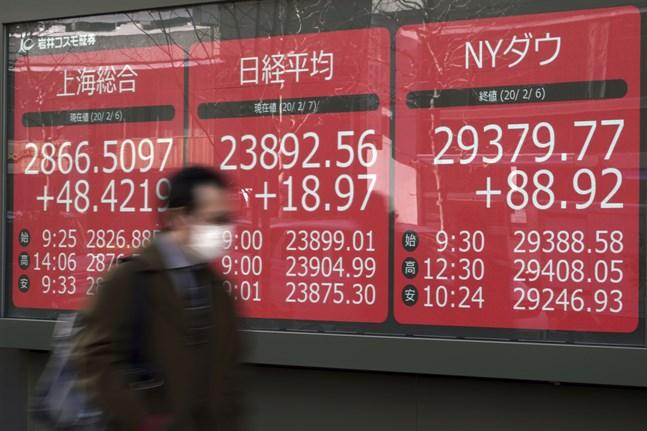 Tokyos Nikkei 225-index. Arkivbild.