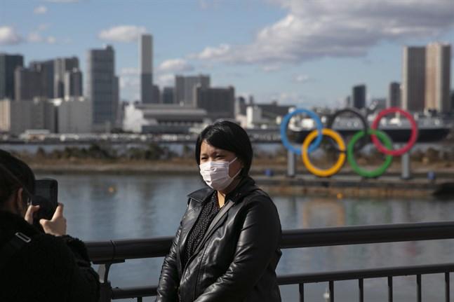 Coronaviruset kommer inte att hota OS i Tokyo enligt spelens chef Yoshiro Mori. Arkivbild.