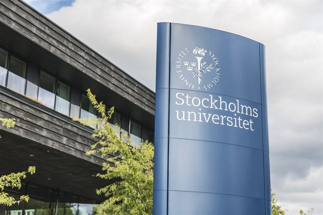 Centrum för paleogenetiks lokaler ligger på Stockholms universitets område. Arkivbild.