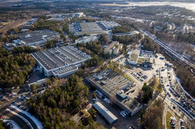 ABB-området i Vasa.