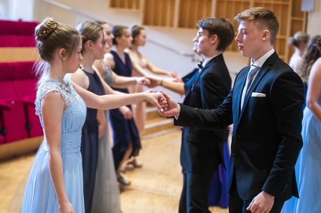 De äldstes dans i Korsholm.