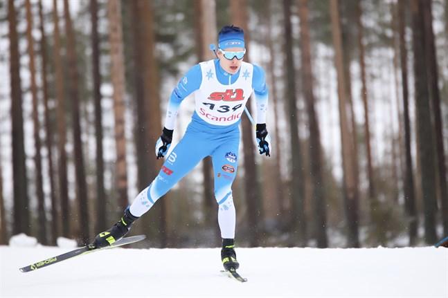 Alexander Ståhlberg får sikta på revansch i lördagens distanslopp på 20 kilometer, som avgörs som masstart i fristil.